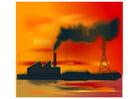 imagem poluição do ar