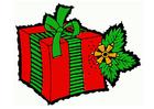 imagem presente de Natal