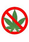 imagem proibido fumar maconha