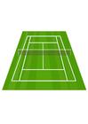 imagem quadra de tênis