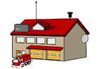 imagem quartel de bombeiros