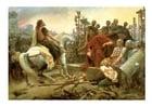 imagem rendição de Vercingetorix a César