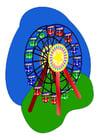 imagem roda gigante