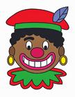 imagem rosto de Zwarte Piet