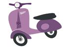 imagem scooter - vespa