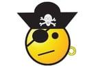 imagem smiley pirata