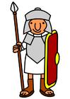 imagem soldado romano