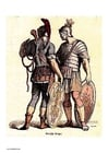 imagem soldados romanos