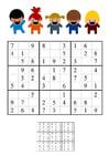 imagem sudoku - crianças