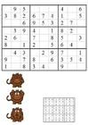 imagem sudoku - macacos