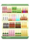 imagem supermercado - bebidas