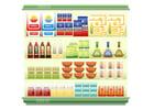 imagem supermercado