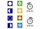 imagem tempo - estações