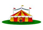imagem tenda de circo