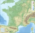 imagem topografia da França
