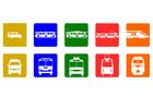imagem transporte público