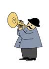 imagem trompetista