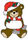 imagem ursinho de Natal