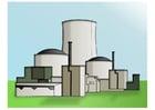 imagem usina nuclear