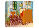 imagem Vincent van Gogh - quarto em Arles