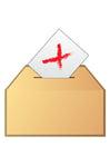imagem votar - não