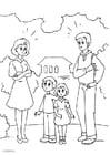 Página para colorir 2. divórcio