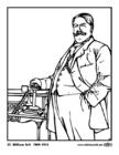 Página para colorir 27 William Taft