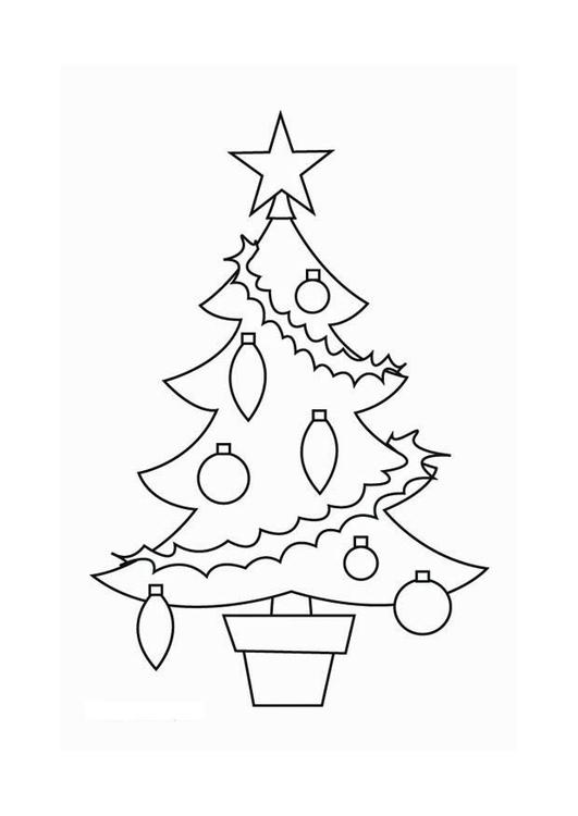 Página Para Colorir árvore De Natal Img 16537