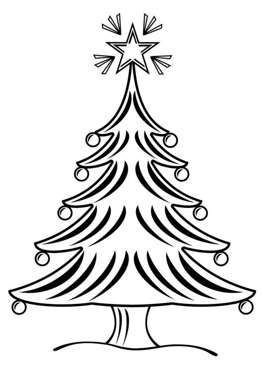 Página Para Colorir árvore De Natal Img 28164