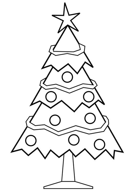 Página Para Colorir árvore De Natal Img 28167
