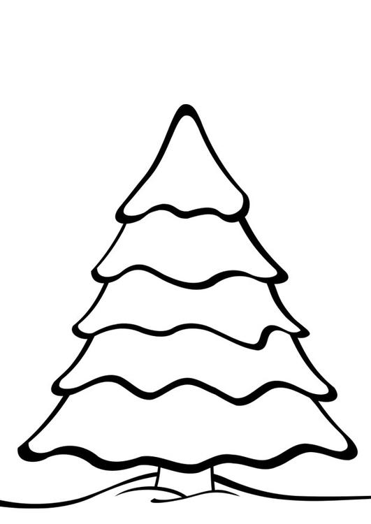 Página Para Colorir árvore De Natal Img 28169