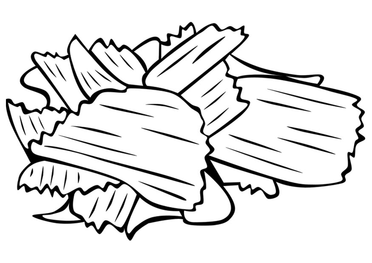 P 225 Gina Para Colorir Batata Frita Img 22405