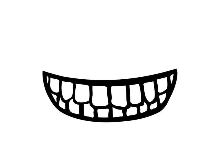 página para colorir boca img 10248