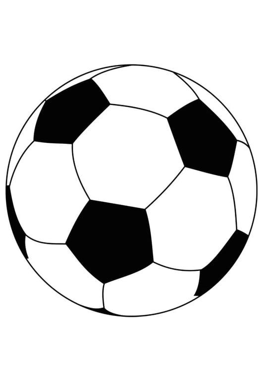 P gina para colorir bola de futebol img 15759 - Pagina da colorare di un pallone da calcio ...