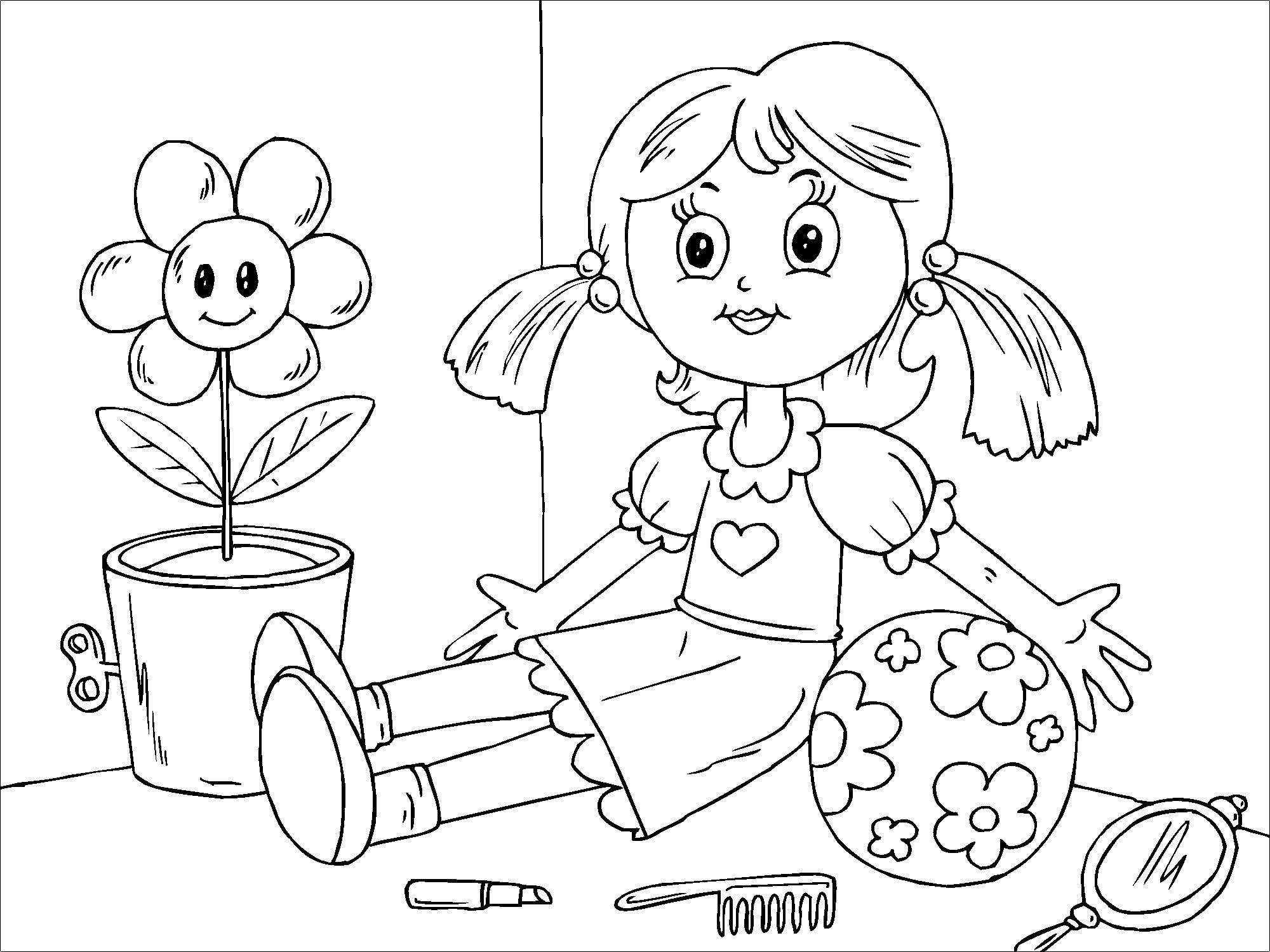 Populares Página para colorir boneca - img 22823. GT11