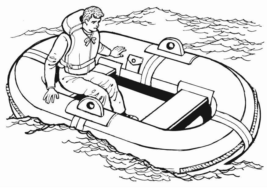 P gina para colorir bote salvavidas img 13221