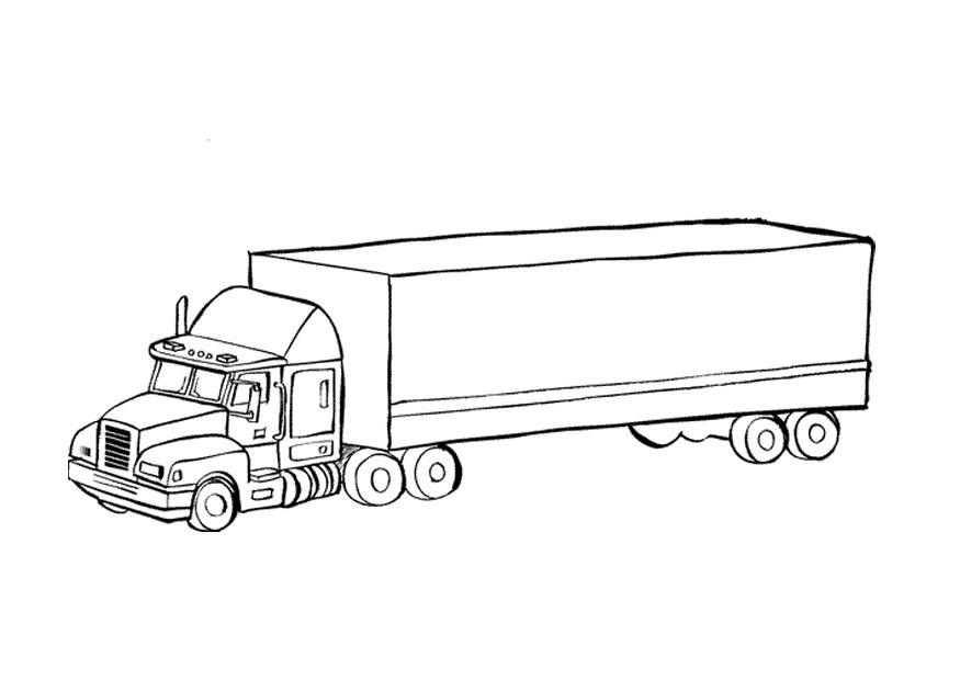 P gina para colorir caminh o img 9674 - Pagina da colorare camion della spazzatura ...