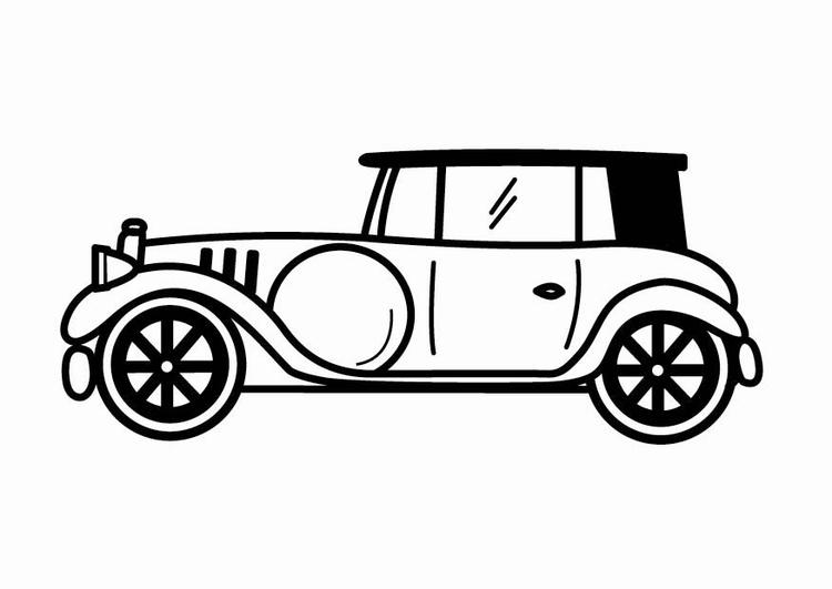 P 225 Gina Para Colorir Carro Antigo Img 24107