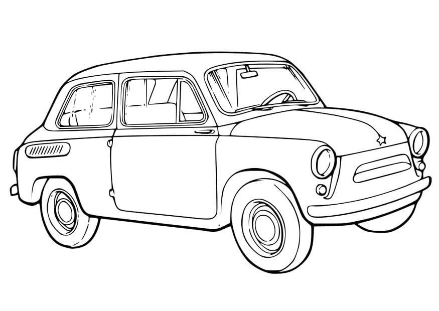 P gina para colorir carro img 15761 - Profili auto per colorare ...