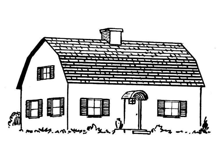 P gina para colorir casa img 15947 for Paginas para disenar casas