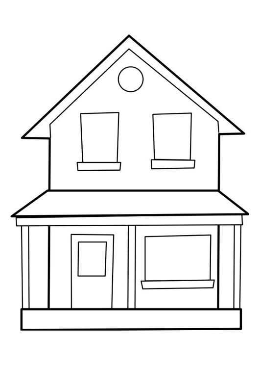 P gina para colorir casa img 22849 for Paginas para disenar casas