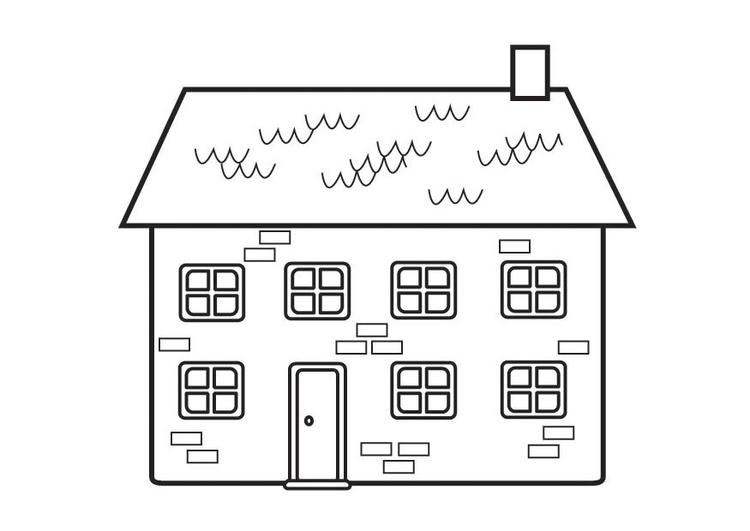 P gina para colorir casa img 23129 for Paginas para disenar casas