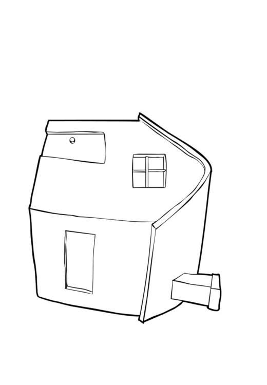 P gina para colorir casa img 13739 for Paginas para disenar casas