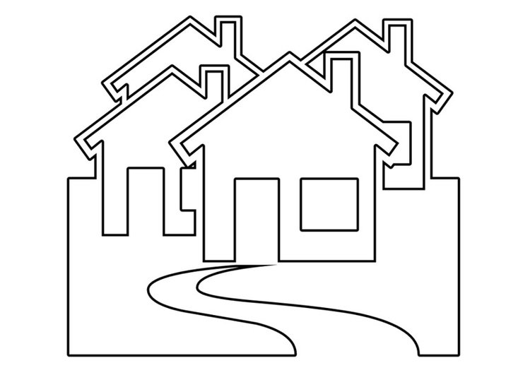 P gina para colorir casas img 22534 - Paginas para disenar casas ...