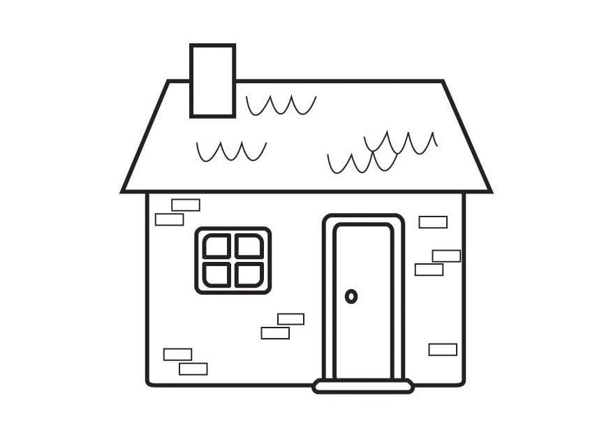 P gina para colorir casinha img 23127 for Paginas para disenar casas