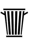 cesta de lixo