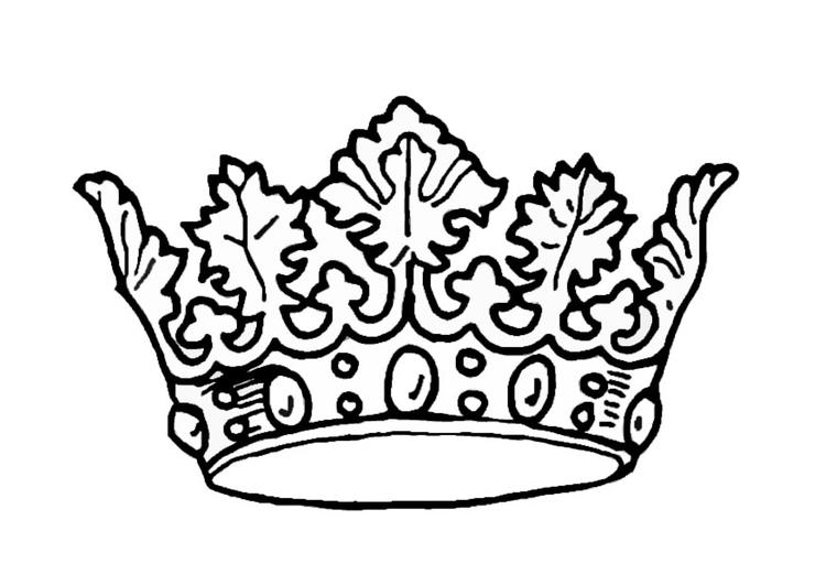 página para colorir coroa do rei img 27244
