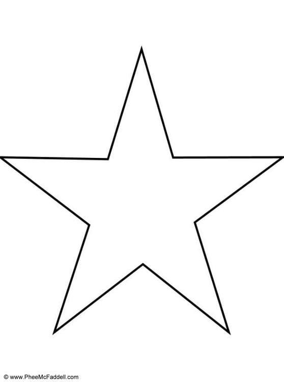 Drawing Lines In Cm Ks : Página para colorir estrela img