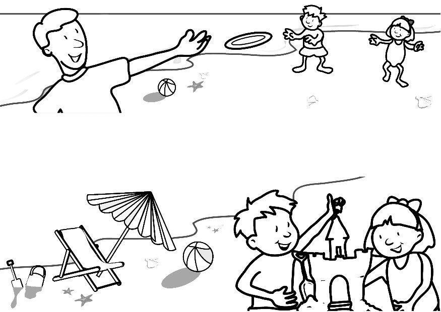 P gina para colorir f rias na praia img 7313 - Paginas para alquilar apartamentos vacaciones ...