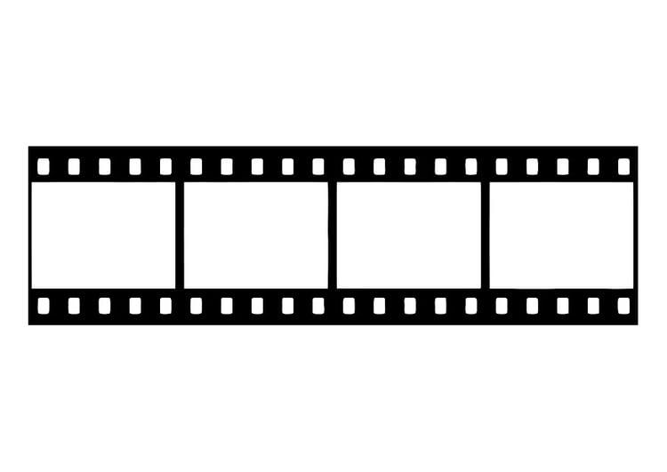 página para colorir filme negativo de filme img 27437